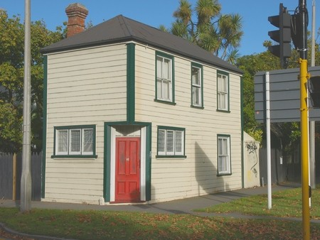 1800's house, Cranmer Square, Christchurch, New Zealand